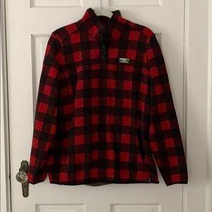 L.L. Bean Buffalo Plain Sweater Fleece Pullover